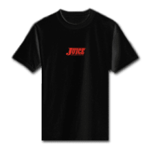 Juice Pools Pipes and Punk Rock Mini Logo Black Short Sleeve Tshirt