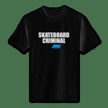 Juice Skateboard Criminal Black Short Sleeve TShirt