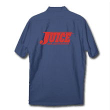 Juice Pools Pipes and Punk Rock Work Shirt