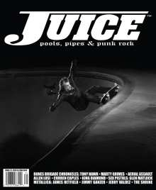 Juice Magazine 71 Steve Olson cover
