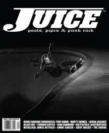 Juice Magazine 71 Steve Olson cover