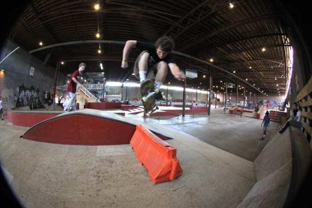 Hardflip. Photo: Dan Levy