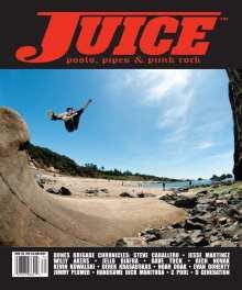 Juice Magazine 70 Kevin Kowalski cover