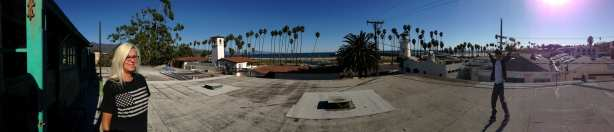 SANTA BARBARA SURF MUSEUM ROOFTOP: PHOTO BY JORDAN KIDUSHIM