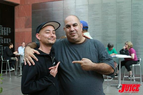 Kevin Immamura and Jason Cohn Photo © Dan Levy
