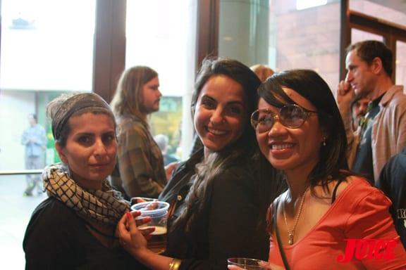 Naheed Simjee, Sowaila, Ethel Seno Photo © Dan Levy