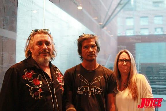Steve Olson, Pat Ngho, Laura Thornhill Photo © Dan Levy