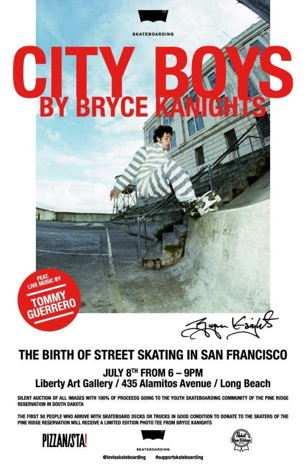 City Boys Flyer Bryce Kanights