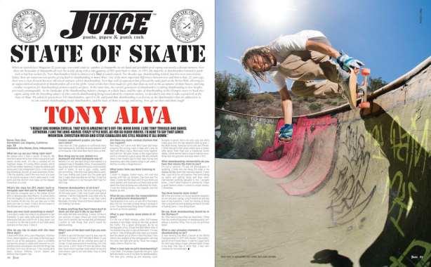 State of Skate Tony Alva