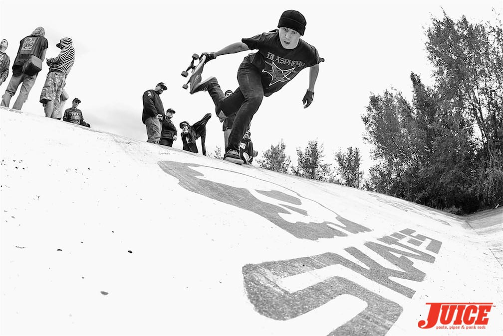 skull skates ditch digger shred contest vernon  british