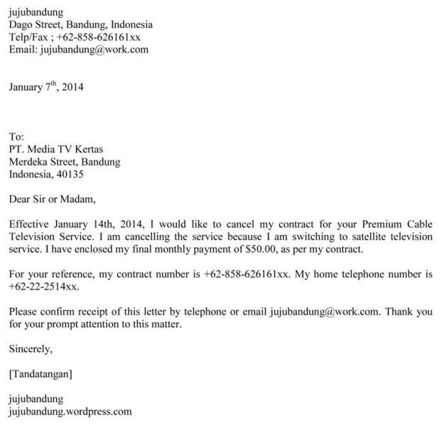 Contoh Application Letter Yang Singkat Professional Resume