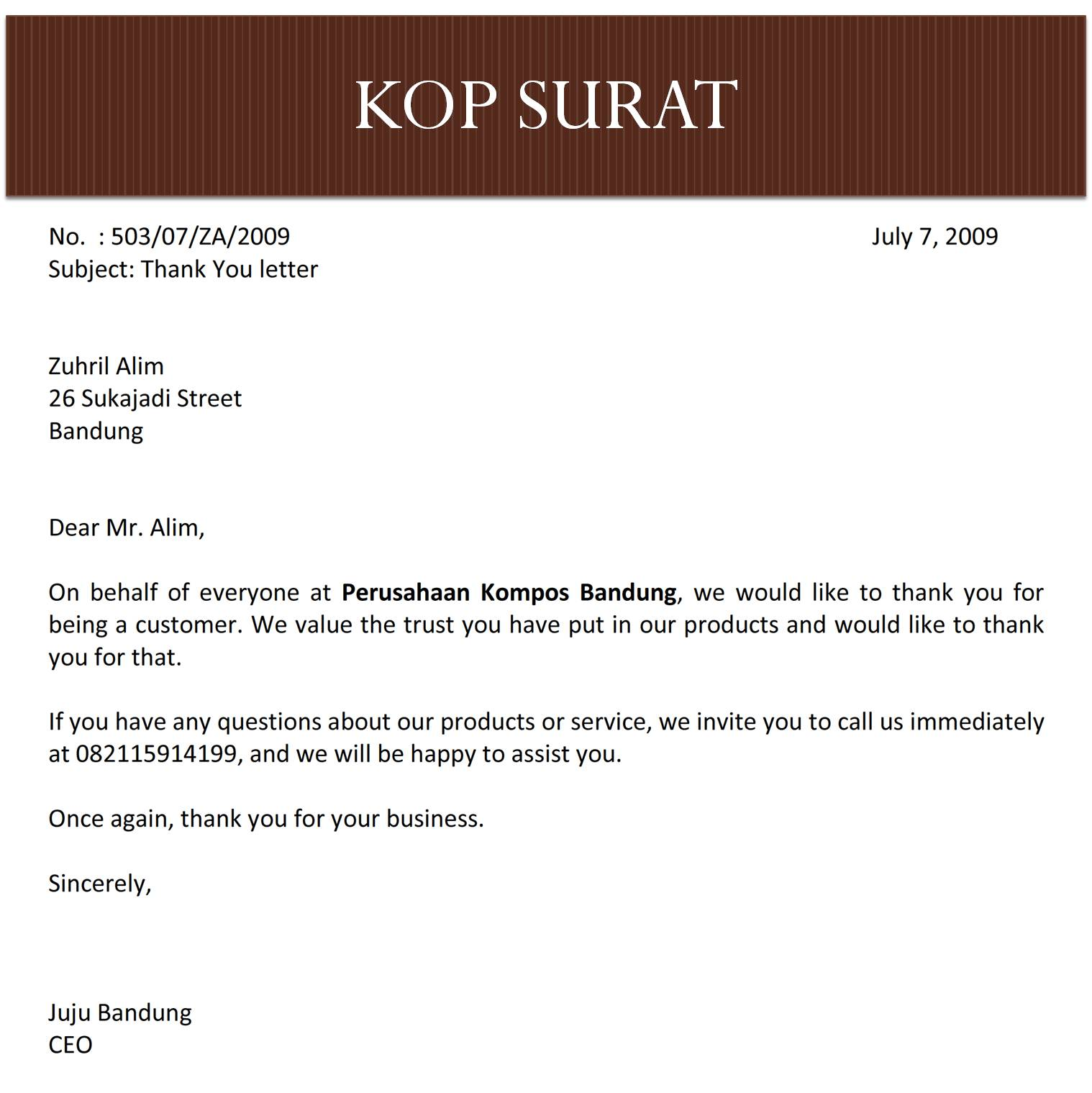 Contoh Invitation Letter Yang Formal Resume Maker Create