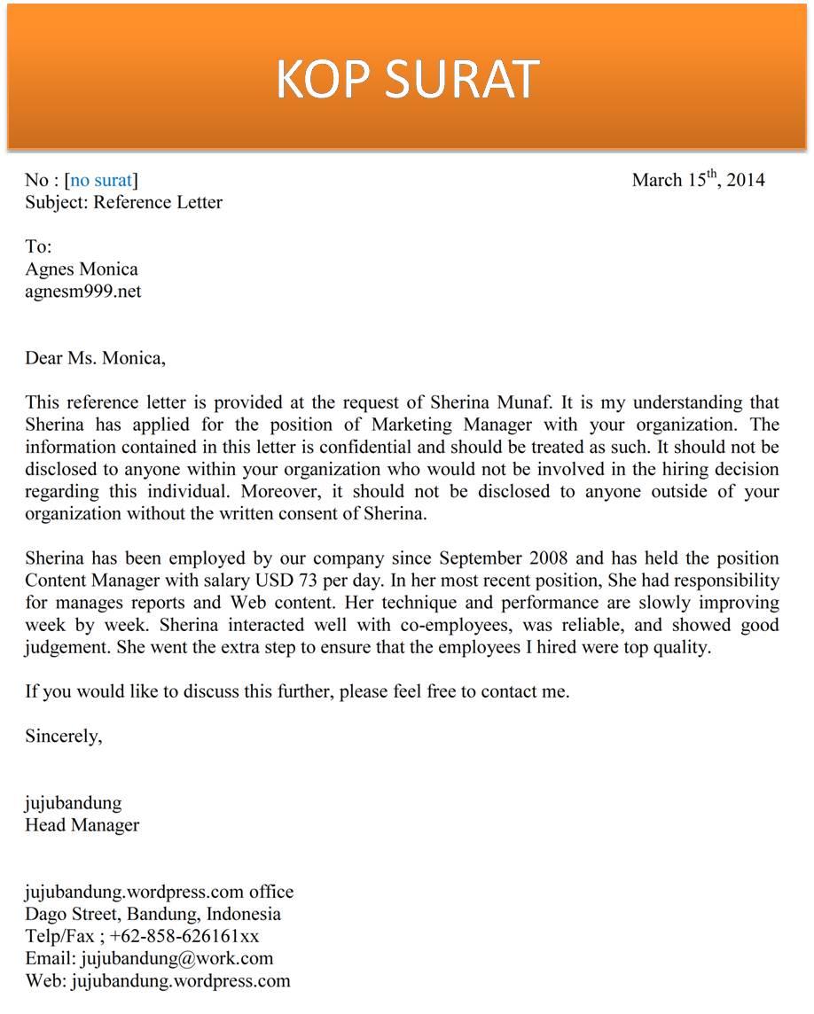 contoh letter of inquiry dan balasannya best resume format example contoh letter of inquiry dan balasannya