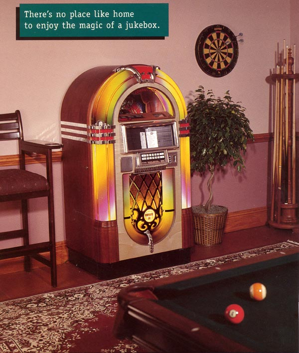 Exclusive Lampen Musikbox Rowe/ami Laserstar Jukebox