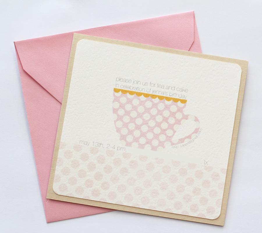 Tea Party Printables | Warm Hot Chocolate