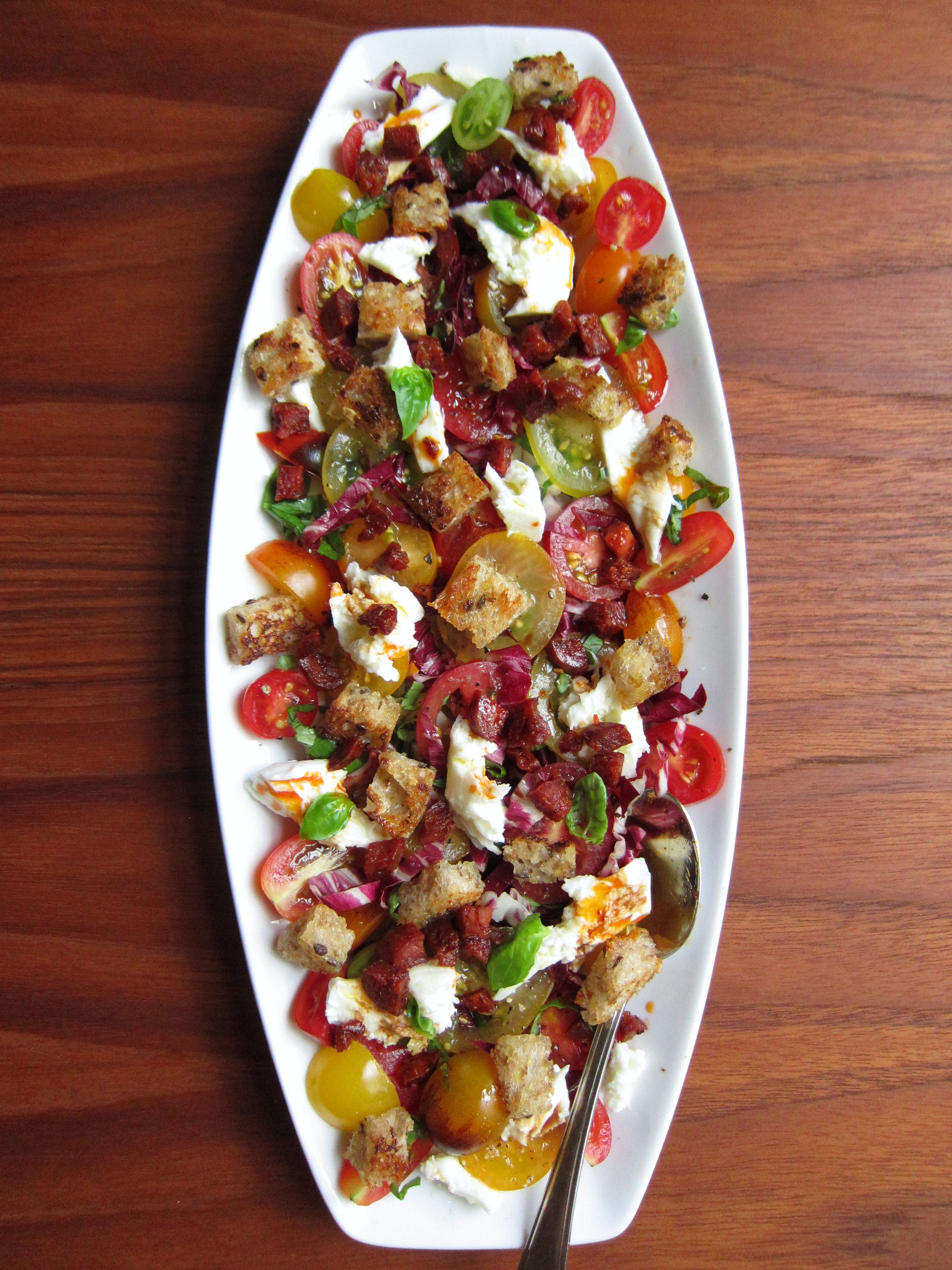 Cucina Povera Salad Panzanella And Cucina Povera Julia Chews The Fat