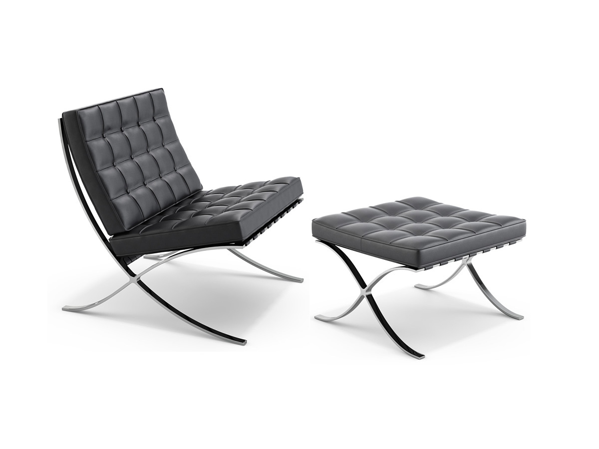 Design Furniture Barcelona Chair By Ludwig Mies Van Der Rohe Julià Grup
