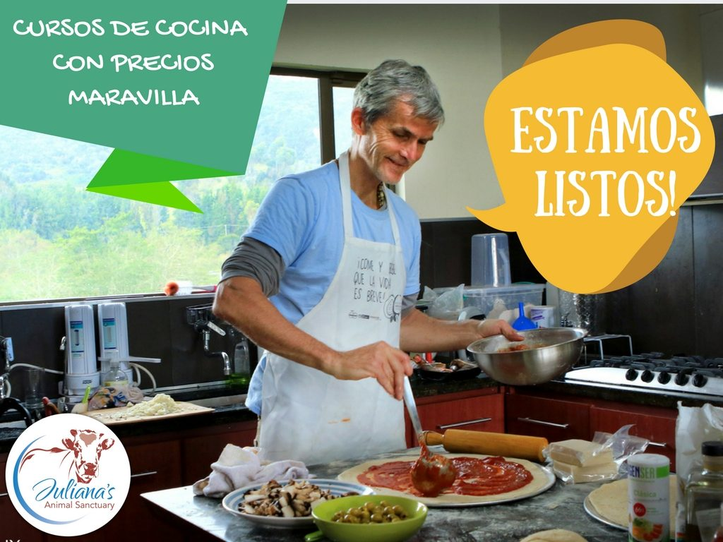 Curso De Cocina Profesional Vegan Cooking Classes In Colombia Juliana S Animal Sanctuary