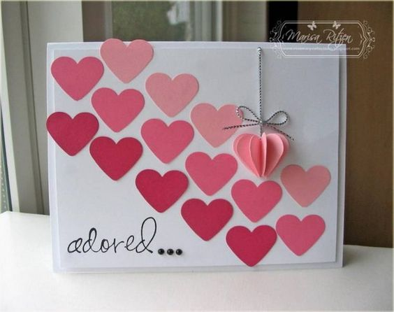 Homemade Valentines Day Cards Ideas. 50 amazing ideas for ...