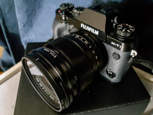 Fujifilm XF16mm f1.4 lens up close and personal