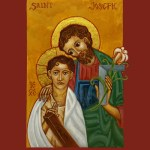 St. Joseph the Worker and the Child Christ
