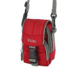 Reiko Small Carrying Camera Case 3.5X2.71X0.95 Inches In Red CMC03-MRD