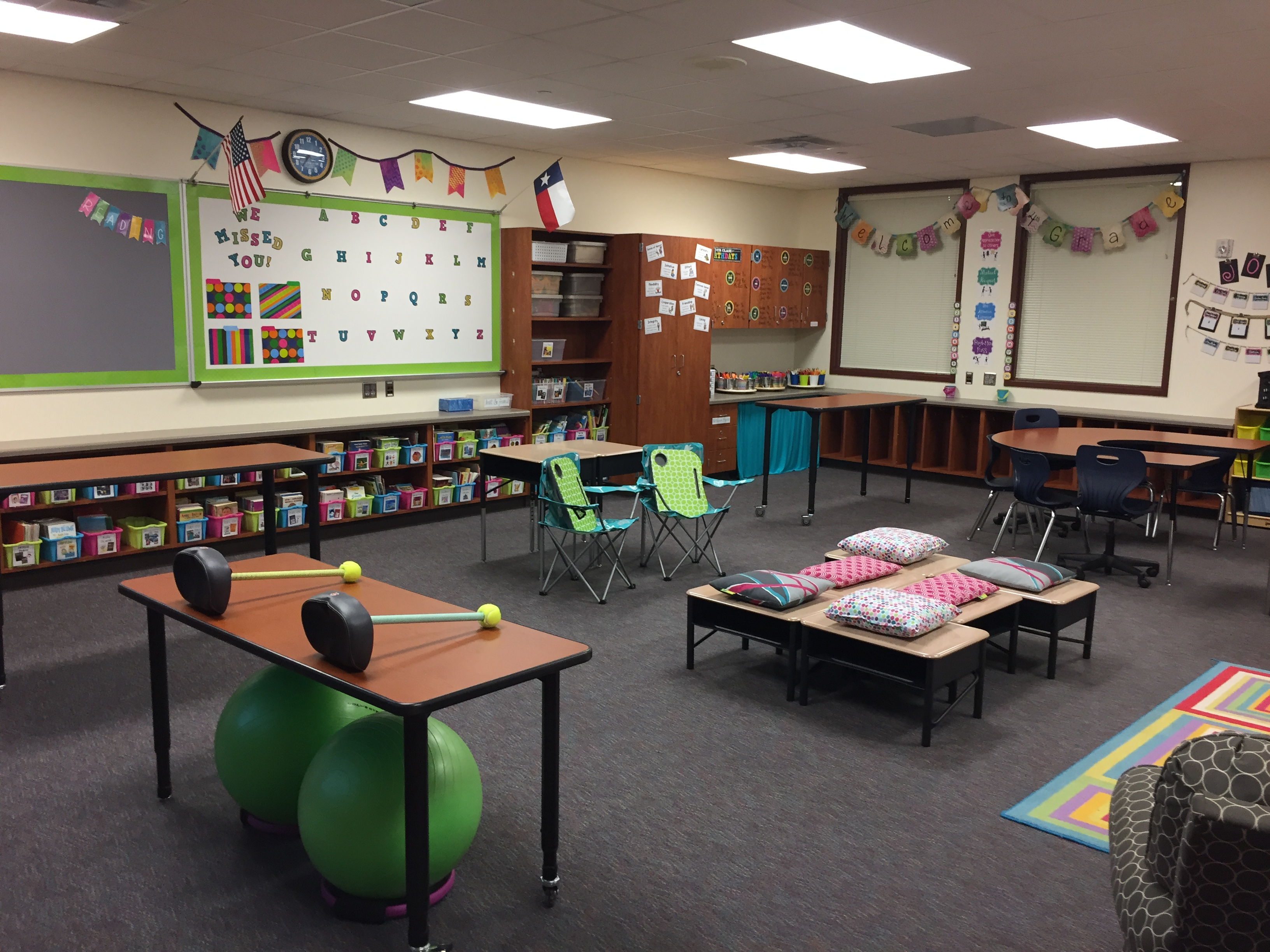 Classroom Seating Ideas ~ Thoughts on a flexible classroom my
