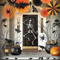 Decoration interieur maison halloween - julie bas
