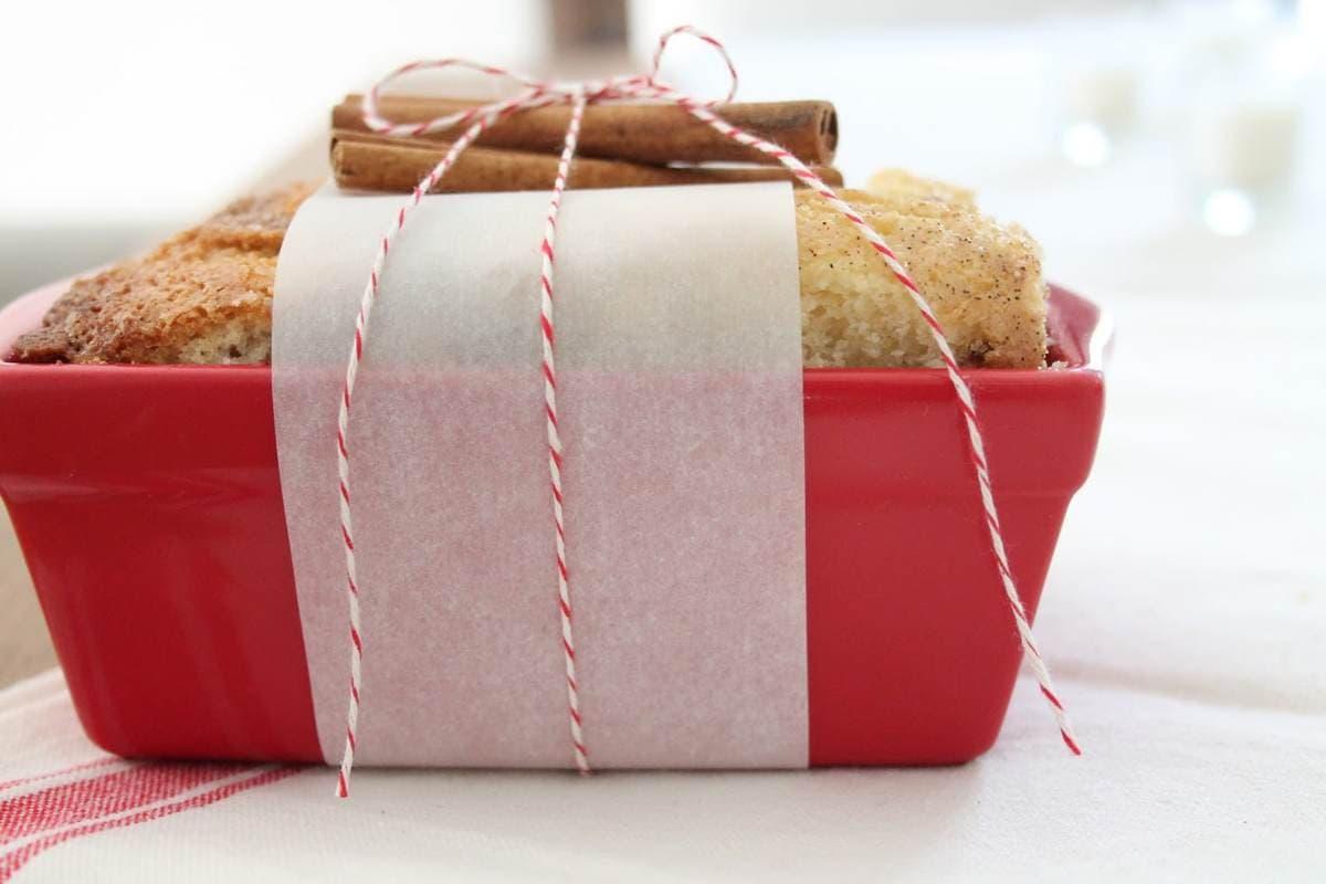 Cinnamon Bread Christmas Bread