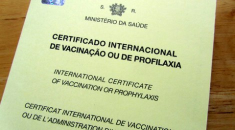 International Certificate of Vaccination or Prophylaxis, Portugal