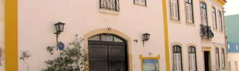 Facade, Rio Arade Manor House hotel, Algarve