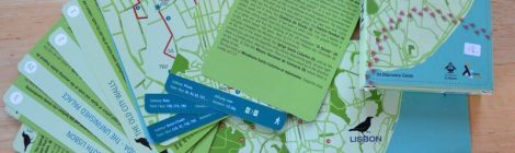 Exploring Lisbon with a pack of Lisbon Walks cards