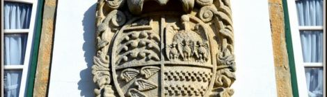 Coat of Arms, Casa da Calada, Melgao