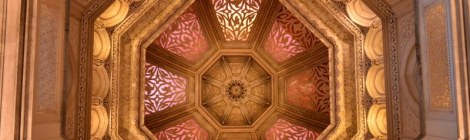 Ceiling, Monseratte Palace, Sintra