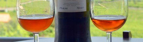 Moscatel wine, Favaios, Portugal