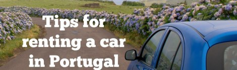 Tips for renting a car in Portugal
