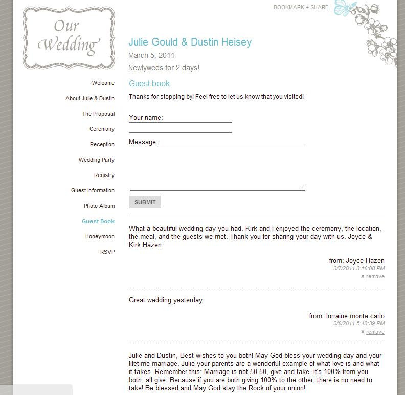 wedding guest book online - Towerssconstruction