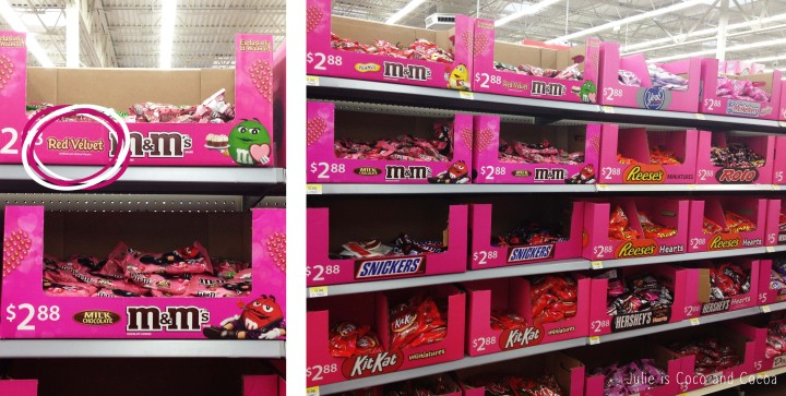 m&m red velvet love walmart