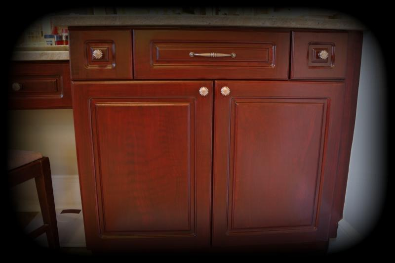 Refinishing Melamine Kitchen Cabinets Juliet Jones Studio - Our Process... Create Your Dream