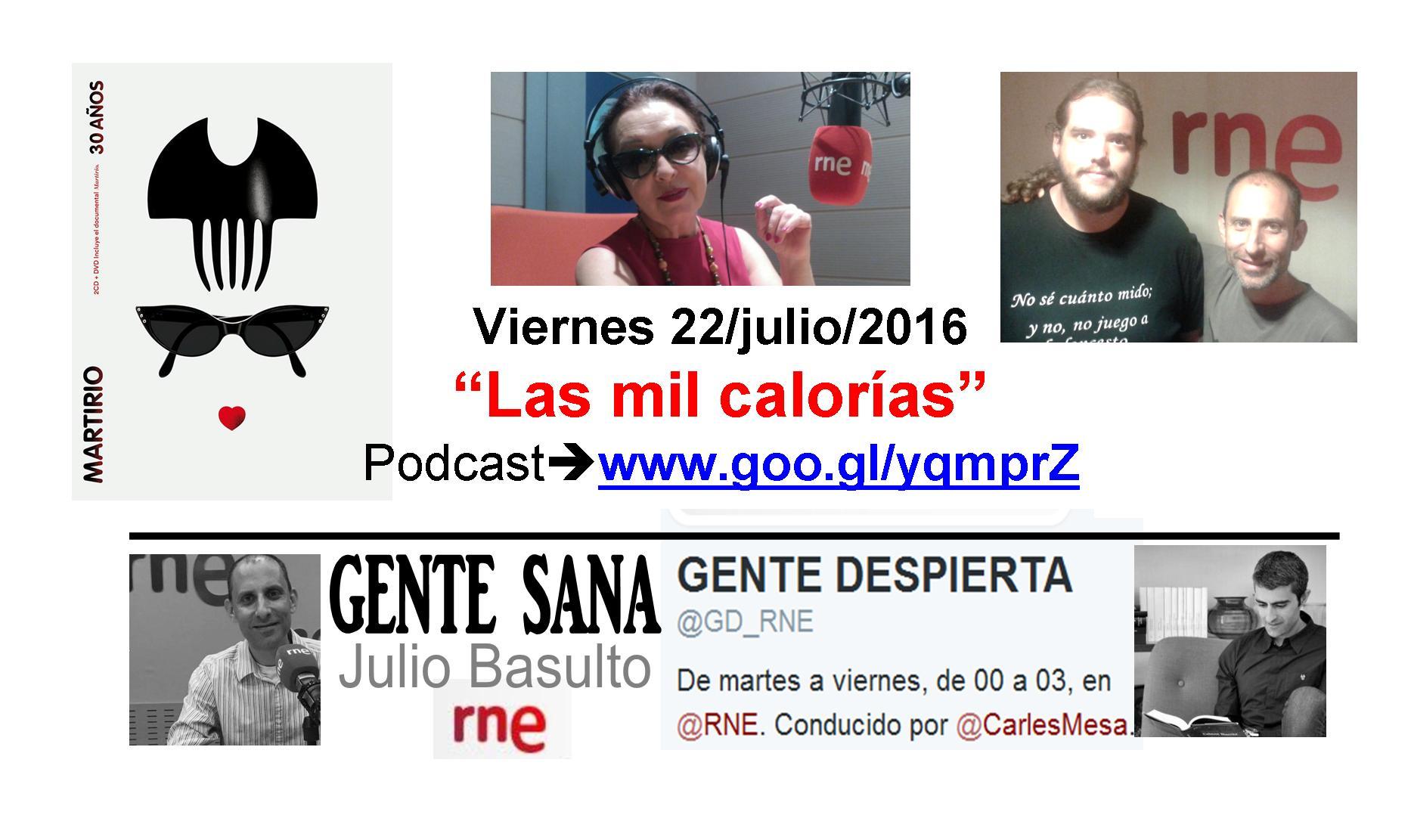 Leche y l cteos podcast gente sana en gente despierta for Carles mesa radio nacional