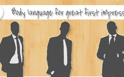 Body language: make a good impression