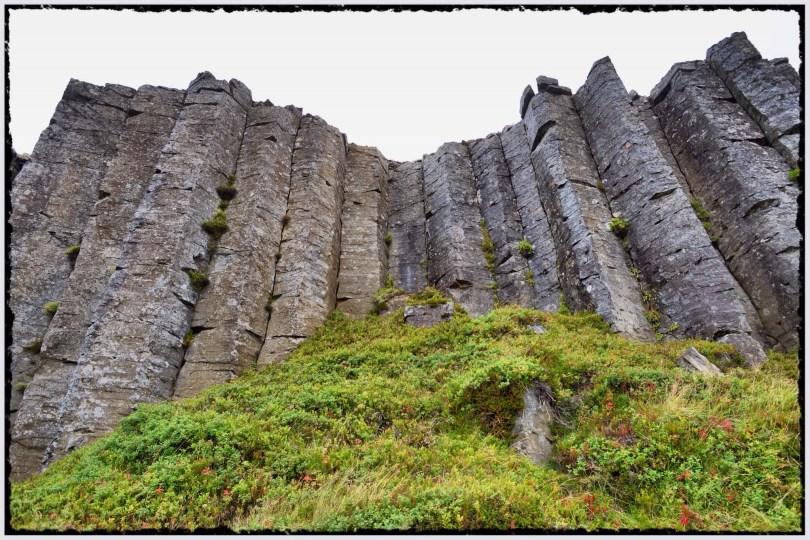 Basalt columns at Gerduberg
