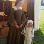 Bridget DeVere and Rosie