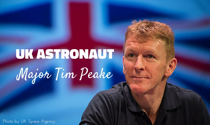 Meeting Major Tim Peake