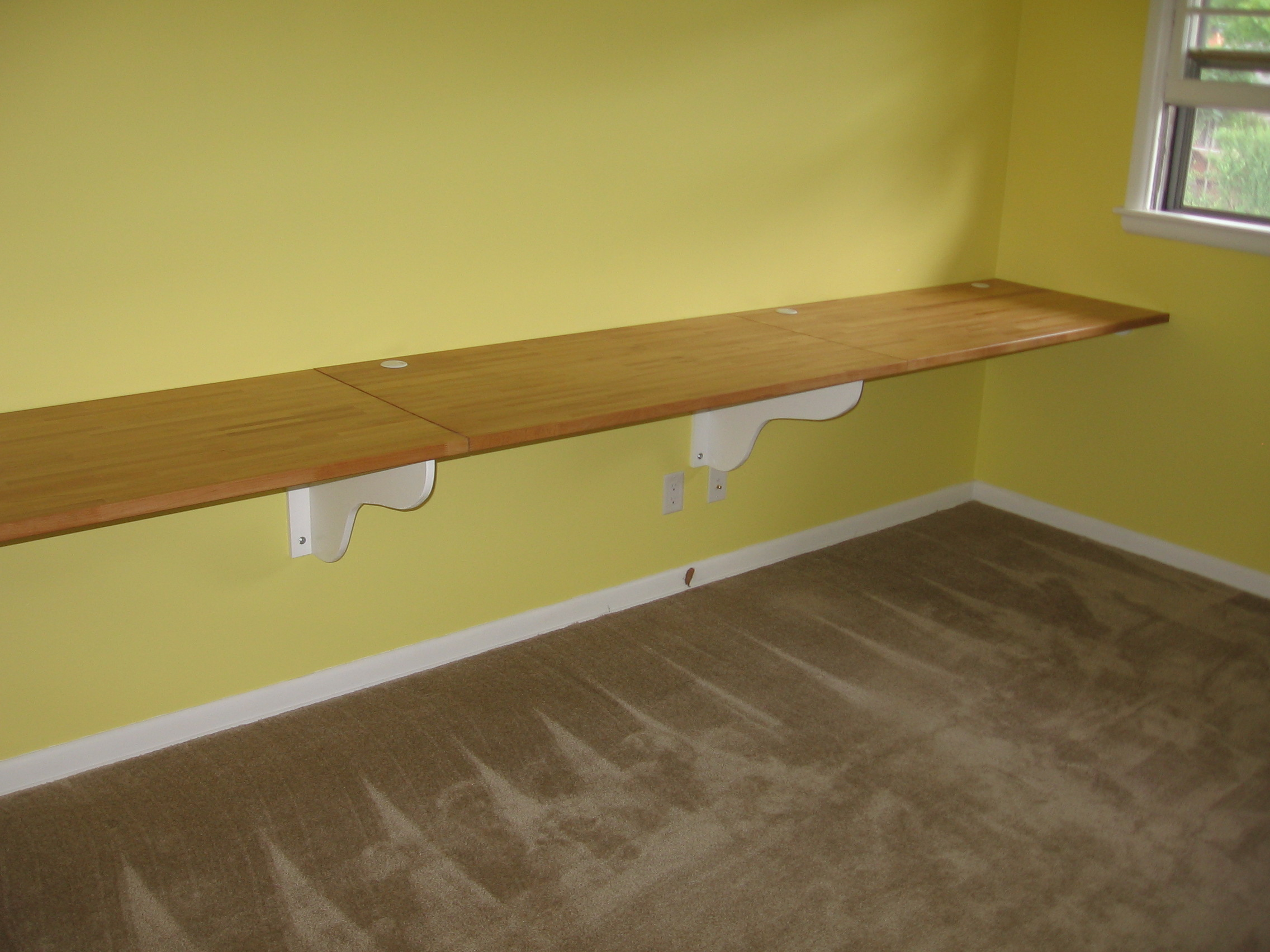 How To Build A Laminate Countertop Built In Desk Is Better Than Anything We Could Buy Jumptuck