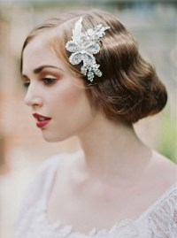 1920's Inspired Bridal Hair Accessories | Junebug Weddings