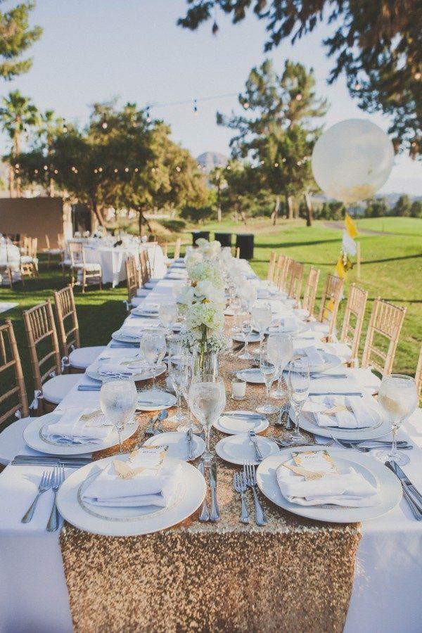 34 Creative Table Runner Ideas for Your Wedding Reception Junebug