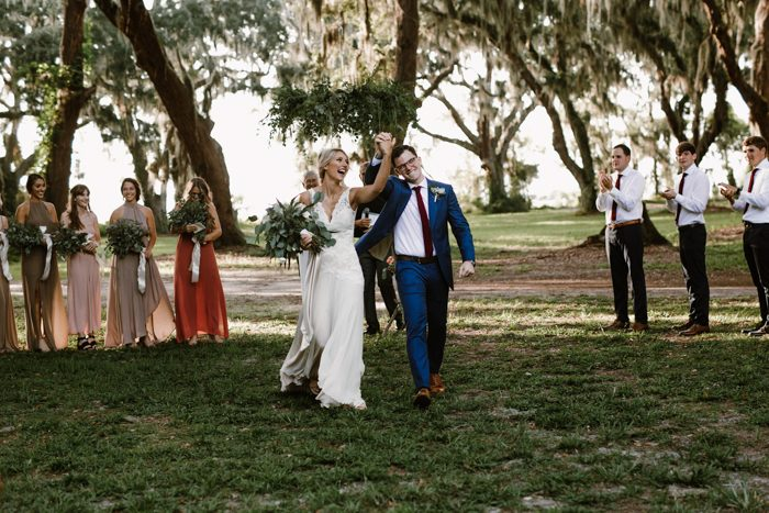 This Diy Georgia Wedding At Gascoigne Bluff Was Catered By