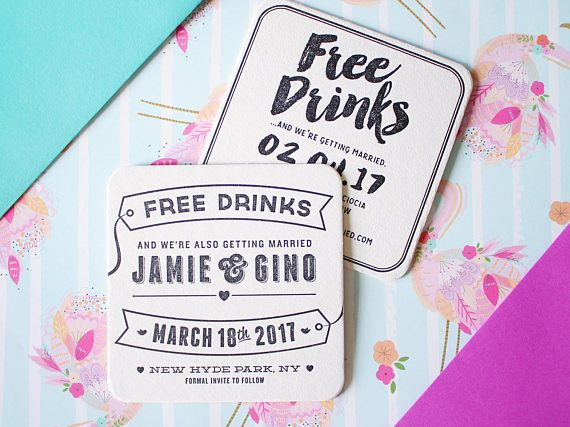 The Best Etsy Save the Dates to Announce Your Wedding Junebug Weddings - free wedding save the dates