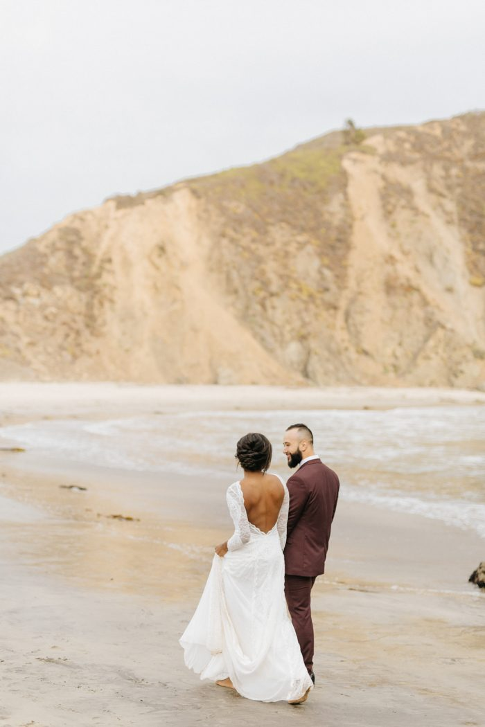 These Cuties Ditched Their Big Wedding Plans for a Secluded Big Sur
